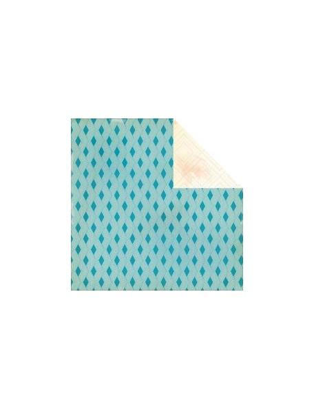 "Crate Paper Boys Rule Cardstock de doble cara 12""X12"", Zap"