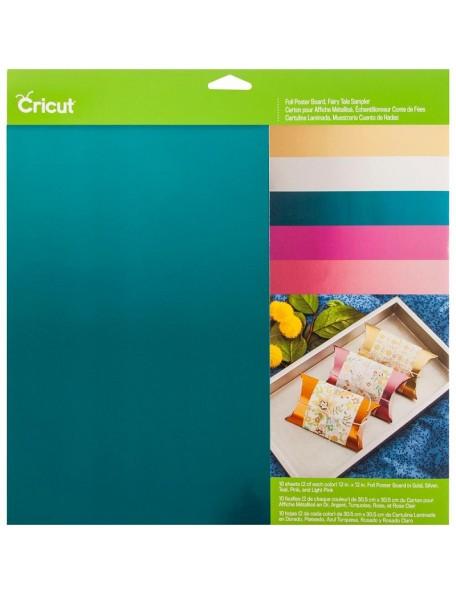 "Cricut 12""X12"" Foil Poster Board Sampler 10, Fairytale"
