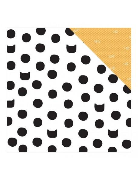 "Studio Calico - Seven Paper Baxter Cardstock de doble cara 12""X12"", 018"