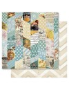 "Ruby Rock-It Bella! Baby Boy Cardstock de doble cara 12""X12"", Montage"