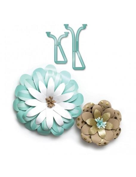 We R Memory Keepers Guia para crear Flores, para usar con el estudio de plantillas We R Memory Keepers