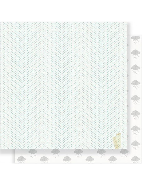 "Crate Paper - Little You Cardstock de doble cara 12""X12"", Cuddle"