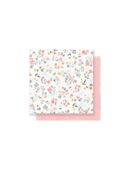 "Crate Paper Little You Cardstock de doble cara 12""X12"", Precious"