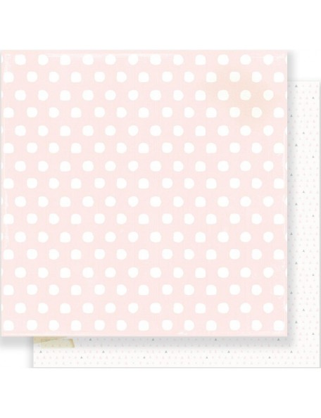 "Crate Paper - Little You Cardstock de doble cara 12""X12"", Little Nose"