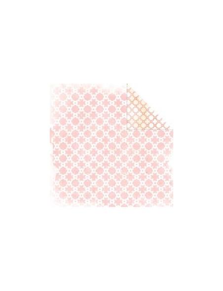 """Glitz - Hello Friend Cardstock de doble cara 12""""X12"""", Chain"""