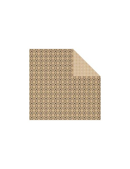 "Authentique - Accomplished Cardstock de doble cara 12""X12"", Recipient"