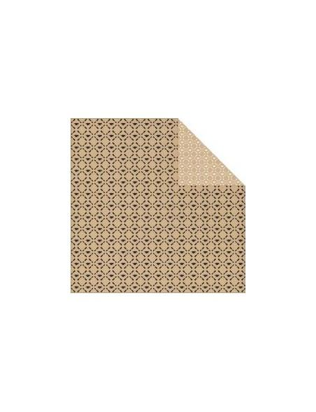 """Authentique - Accomplished Cardstock de doble cara 12""""X12"""", Recipient"""