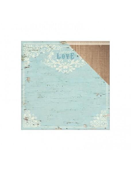 "Paper House - Wedding Cardstock de doble cara 12""X12"", Love"