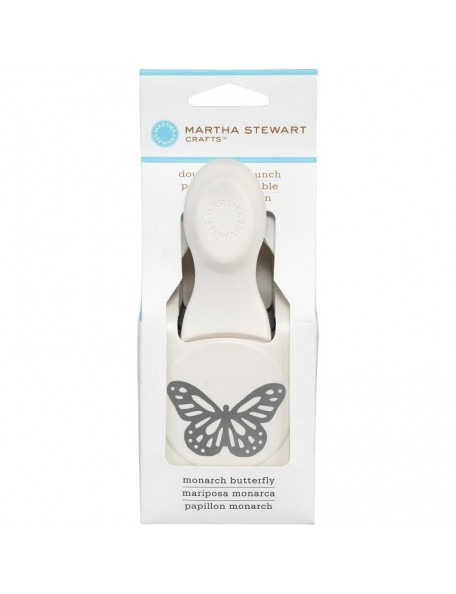 "Martha Stewart Large Double Punch-Monarch Butterfly, 1.25""X1.875"""