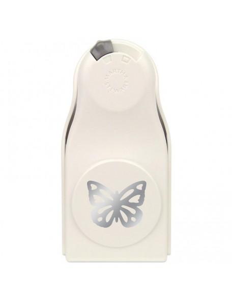"""Martha Stewart Layering Punch-Garden Butterfly, 1.7""""X1.6"""""""