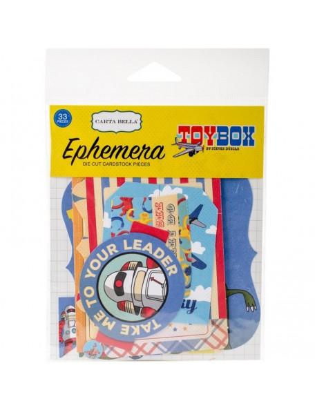 Carta Bella Toy Box Ephemera Cardstock Die-Cuts-Icons