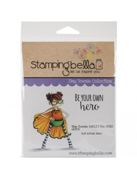 "Stamping Bella - Tiny Townie Hayley The Superhero 6.5""X4.5"""