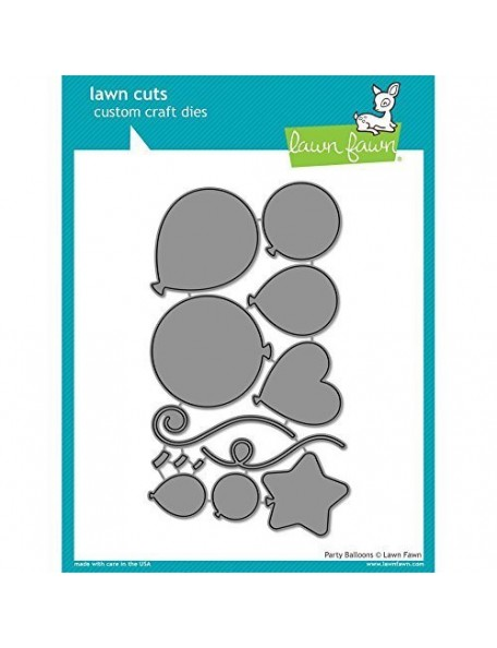 Lawn Cuts Custom Craft Die Party Balloons