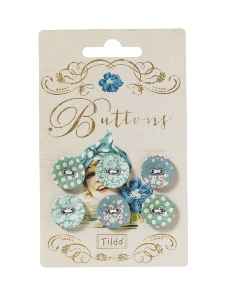 Tilda pack botones Spring Lake Flower (6 Unidades)