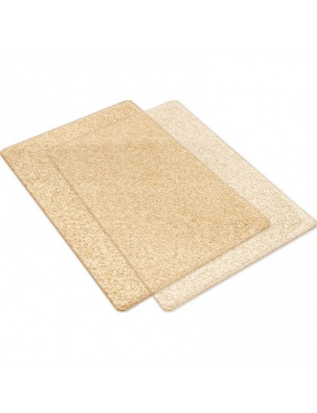 Sizzix Big Shot Cutting Pads 1 Pair, Transparnete con Gold Glitter - Standard