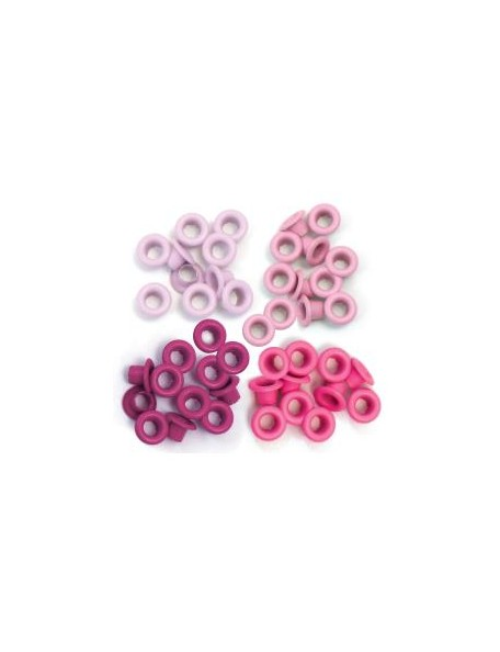 We R Memory Keepers Eyelets Standard 60 Rosa