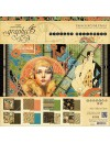 """Graphic 45 Vintage Hollywood Paper Pad 12""""X12"""""""