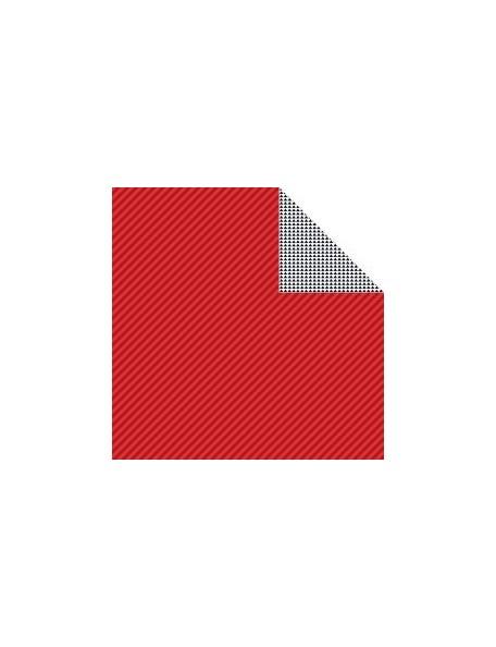 "Bella BLVD - Color Chaos Cardstock de doble cara 12""X12"", McIntosh Strandz"
