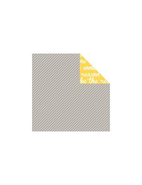 """Bella BLVD - Color Chaos Cardstock de doble cara 12""""X12"""", Scallop Strandz"""