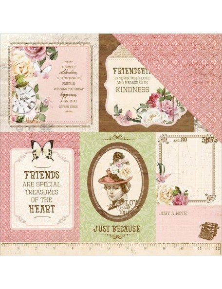 """Couture Paper - """"Mademoiselle"""", Kaisercraft"""