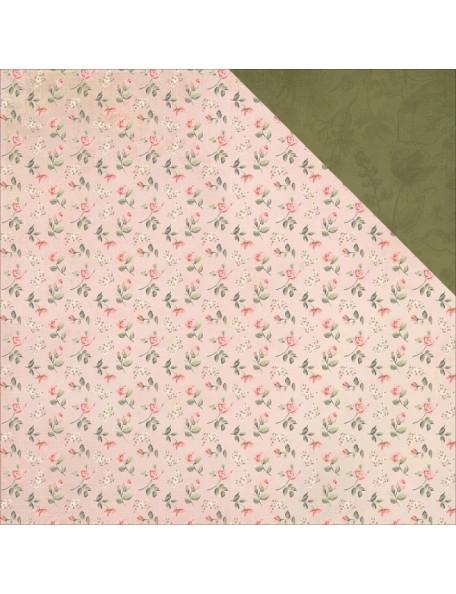 "Kaisercraft - Mademoiselle Cardstock de doble cara 12""X12"", Blossoms"