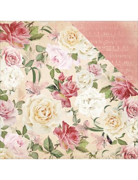 """Kaisercraft - Mademoiselle Cardstock de doble cara 12""""X12"""", Floral Spray"""