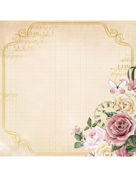"Kaisercraft - Mademoiselle Foiled Cardstock 12""X12"", Timeless"
