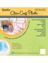 "Craft Plastic Sheets 12""X12"" 4/Pkg Clear .020"