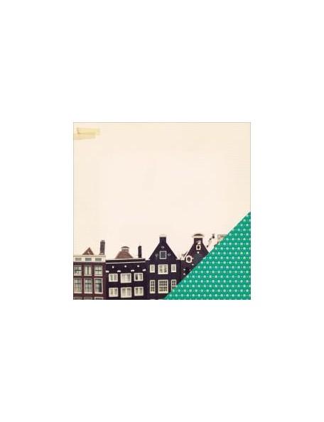 "Crate Paper - Maggie Holmes Open Book Cardstock de doble cara 12""X12"", Slideshow"