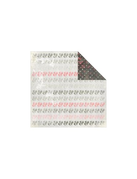 "Glitz - Love You Madly Cardstock de doble carar12""X12"", Ampersand"