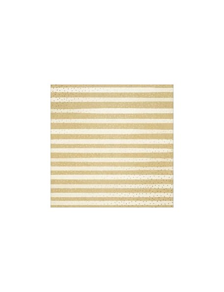 """American Crafts - Amy Tan Finders Keepers Cardstock especial 12""""X12"""", Kraft One In A Million W/Gold Foil"""