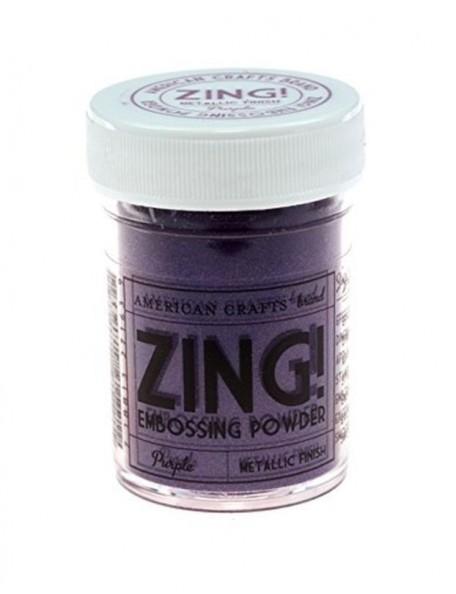 American Crafts Embossing Powder Metallic Finish, Purple