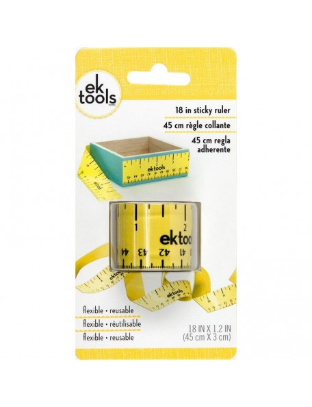 """EK Tools 18"""" Regla Adhesiva 45cm"""