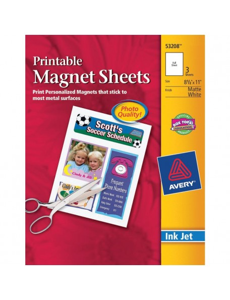 Printable Magnet Sheets (Hojas de imán imprimibles)