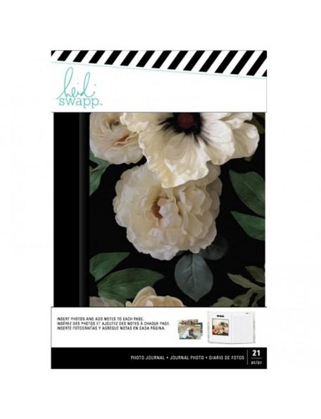 "Heidi Swapp Photo Journal 8""X5.33"" Magnolia Jane Floral"