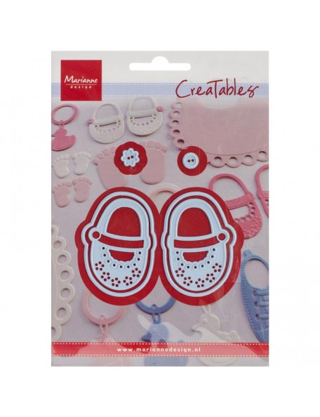 """Marianne Design Creatables Troquel, My First Shoes, Up To 1.1875""""X1.8125"""""""
