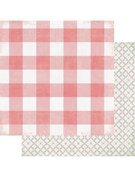 "Heidi Swapp Magnolia Jane Cardstock de doble cara 12""X12"" Southern Cottage"