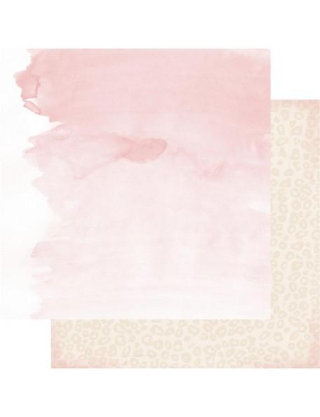 "Heidi Swapp Magnolia Jane Cardstock de doble cara 12""X12"" Flea Market"