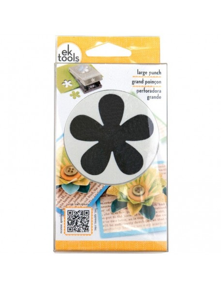Ek Success Troquel para hacer Retro Flower, 2""