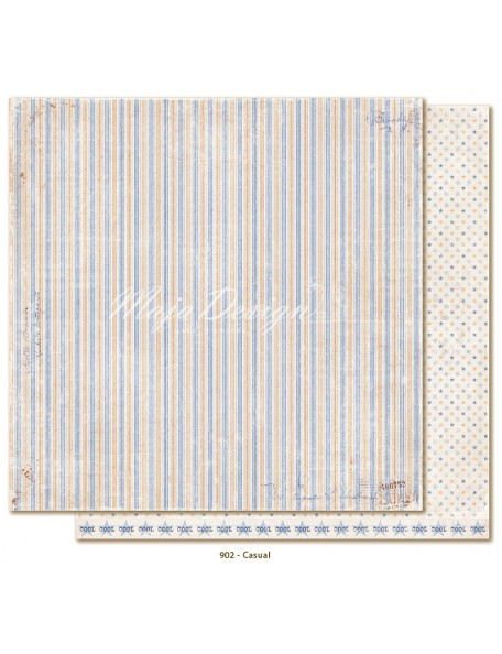 "Maja Design - Denim and Friends Cardstock de doble cara 12""X12"", Casual"