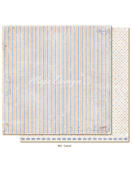 "Maja Design - Denim and Friends Cardstock de doble cara 12""X12"", Casual"