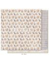 "Maja Design Denim and Friends Cardstock de doble cara 12""X12"", Floral"