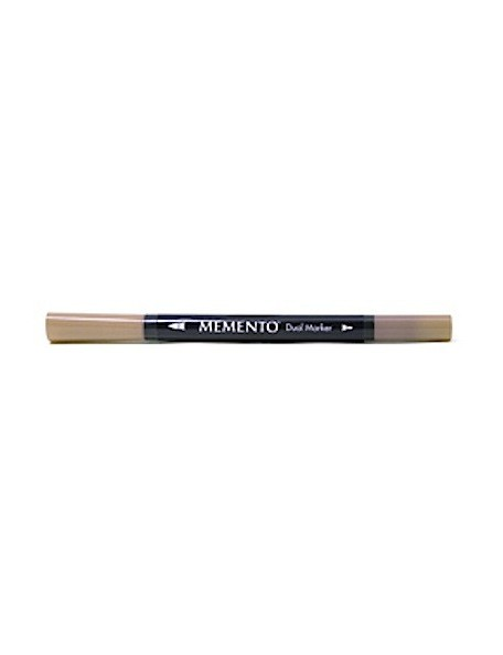 Memento Dual-Tip Marker-Toffee Crunch