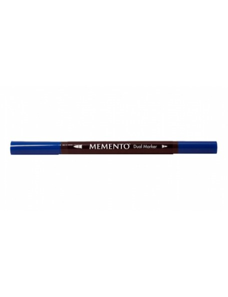 Memento Dual-Tip Marker-Danube Blue