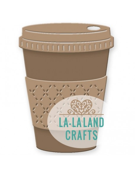 "La-La Land Die-Coffee Cup 2.75""X1.75"""