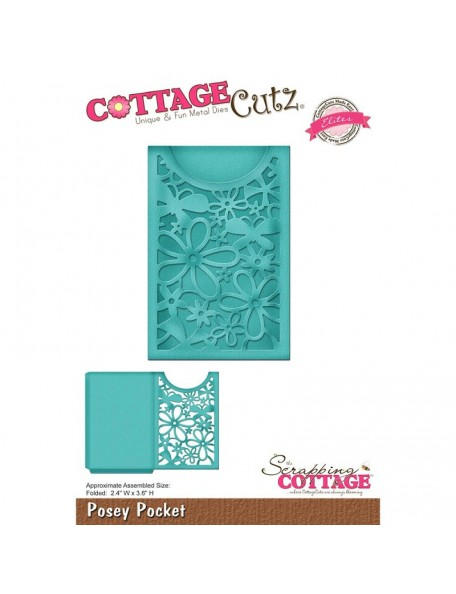 "CottageCutz Die Butterfly Tag, 2.1""X3.9"""
