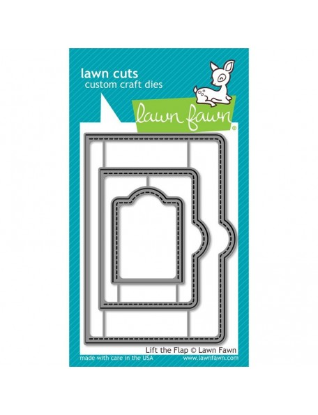 Lawn Cuts Custom Craft Die-Lift The Flap