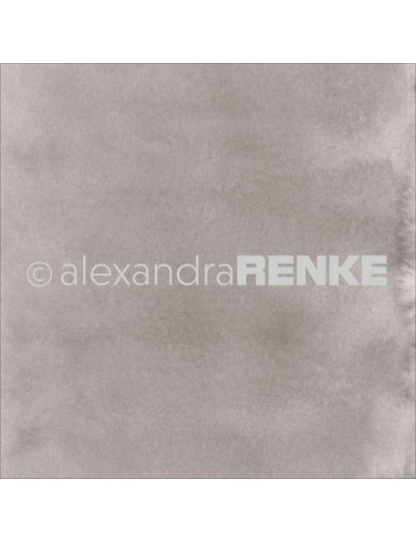 Alexandra Renke Cardstock de una cara 30,5x30,5 cm, Mimi's Basic Medium Mud Watercolor