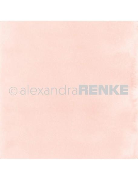 "Alexandra Renke Mimi's Basic Design Paper 12""X12"" , Rose Watercolor"