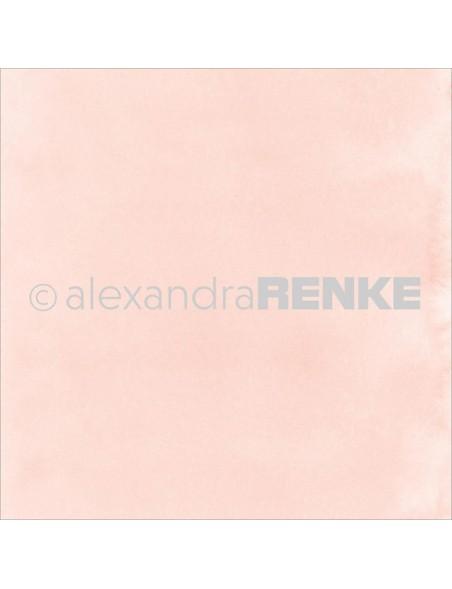 Alexandra Renke Cardstock de doble cara 30,5x30,5 cm, Mimi's Basic Rose Watercolor